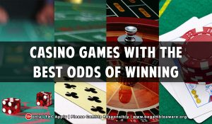Casino games odds